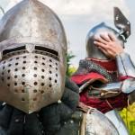 Wystawa uzbrojenia i nocne walki rycerskie w Grunwaldzie