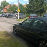 Pożar samochodów w Bartoszycach