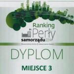 Ełk doceniony w rankingu Perły Samorządu 2014