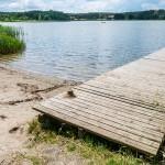 Powiat elbląski z tylko jednym legalnym kąpieliskiem. Mieszkańcy korzystają z dzikich plaż