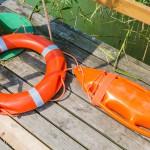 W jeziorze Narie utonął surfer