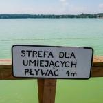 Spadł poziom wód w mazurskich jeziorach