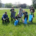 Gimnazjaliści sprzątali olsztyńskie parki