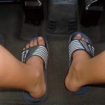 Lato keczup klapki