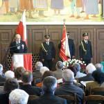 Uroczysta sesja Rady Miasta Olsztyna