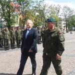 W Gołdapi powitano żołnierzy wracających z Kosowa