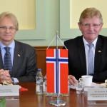 Ambasador Norwegii liczy na współpracę z Warmią i Mazurami