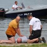 Policja apeluje o ostrożność nad wodą