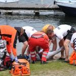 53-latek utonął w jeziorze Pluszne
