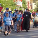 Pielgrzymi z Braniewa podążają na Jasną Górę