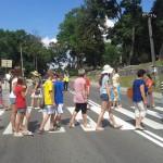 W Gąskach mieszkańcy blokowali drogę