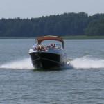 Pijani sternicy na mazurskich jeziorach. Dzięki policyjnym wodniakom udało się uniknąć tragedii