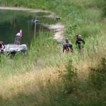 Ciało kobiety w jeziorze Długim