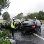 Weekend na drogach WiM: 3 osoby zginęły, 32 ranne