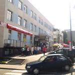 Mieszkańcy Bartoszyc stoją w kolejce po pracę we Francji