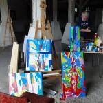 Interdyscyplinarny plener artystyczny w Janowie