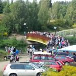 Kieźliny świętowały z okazji otwarcia nowego mostu