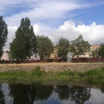Trwa budowa Parku Kopernika w Ełku