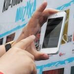 Wirtualna wypożyczalnia stanęła przed olsztyńskim ratuszem