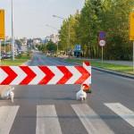 Kolejne utrudnienia na ulicy Sikorskiego w Olsztynie