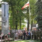 W Olsztynie odsłonięto pomnik Armii Krajowej