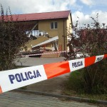 Wybuch gazu zniszczył dom w Ełku