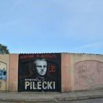 Działacze z Olsztynka oddają hołd rotmistrzowi Pileckiemu