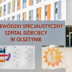 """Do szpitala dziecięcego w Olsztynie trafiły """"kilometry pomocy"""""""