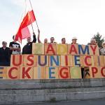 Żądali usunięcia sowieckiego pomnika