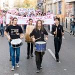 Amazonki przeszły ulicami Olsztyna