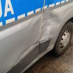Trzech rannych policjantów