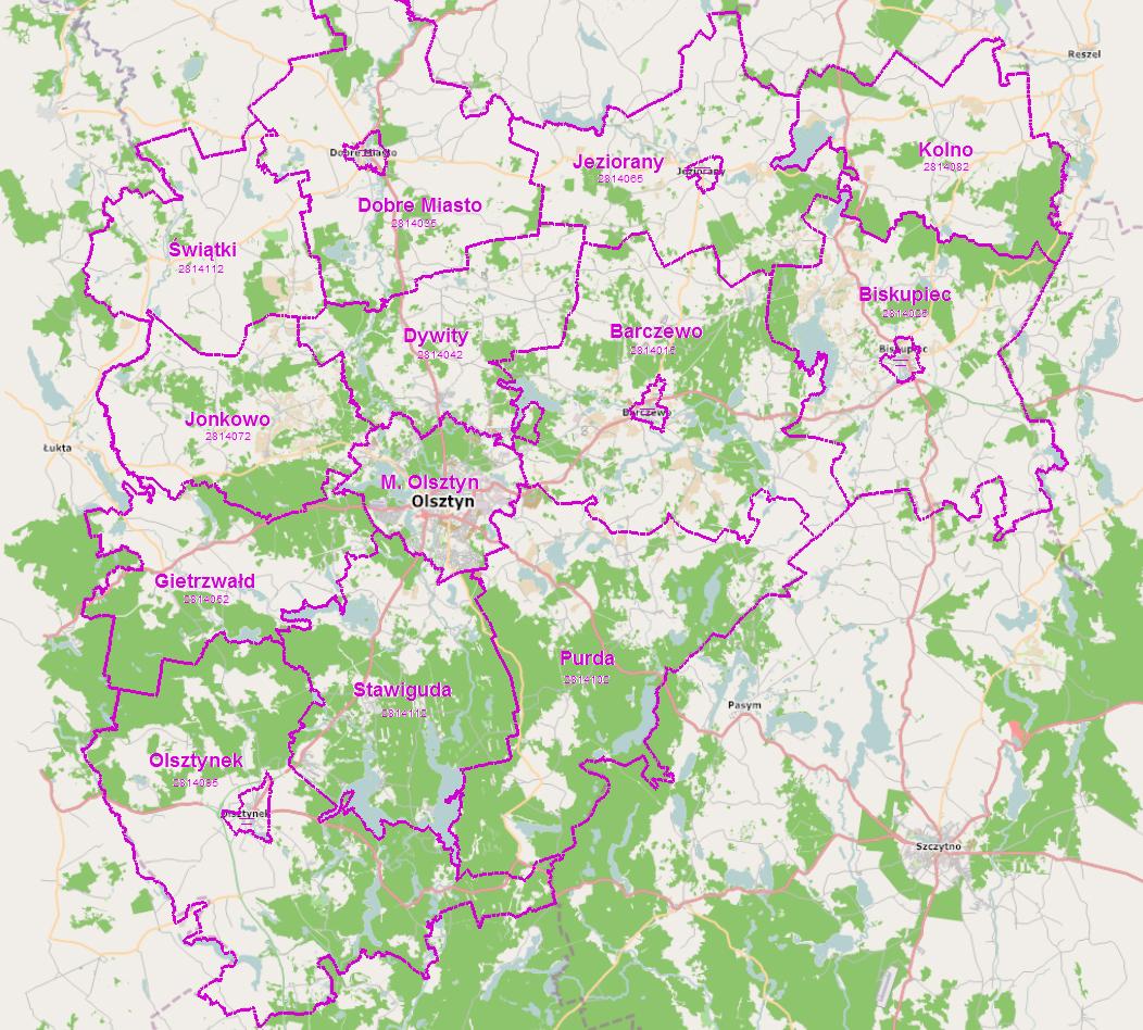 Informatyzacja Map Kartograficznych I Geodezyjnych Radio Olsztyn