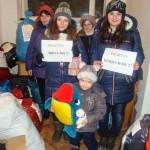 Dary od mieszkańców Olsztyna i Warszawy dojechały na Ukrainę