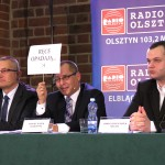 Debata kandydatów na prezydenta Elbląga