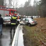Wypadki na drogach regionu