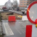 Budowa linii tramwajowych wkracza do centrum Olsztyna