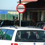 Kolejka na największym polsko-rosyjskim przejściu granicznym w Grzechotkach