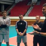 Pierwszy trening olsztyńskich siatkarzy z Andrea Gardinim