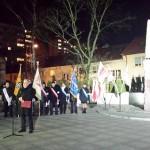 Olsztyn upamiętnił rocznicę wprowadzenia stanu wojennego