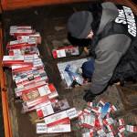 Nieudany przemyt papierosów i paliwa