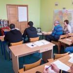 Repatrianci rozpoczęli w Rybakach naukę polskiego