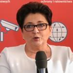 Minister Piotrowska odwiedziła uchodźców z Donbasu
