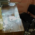 Woda z pękniętej rury zalała biuro Fundacji Elbląg