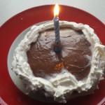 Tort naleśnikowy na 50-tkę
