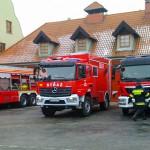 Po dopalaczach chciał ukraść wóz strażacki
