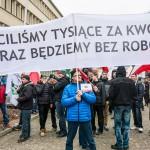 Rolnicy protestują w Olsztynie