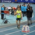 Karol Zalewski biegnie po medal Mistrzostw Europy