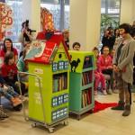 Do Szpitala Dziecięcego w Olsztynie przyjechał Bajkowóz