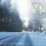 Na drogach Warmii i Mazur będzie ślisko
