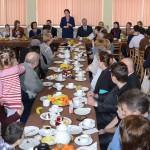 Premier Ewa Kopacz u repatriantów z Donbasu